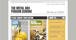 Preview of metalboxpensions.co.uk